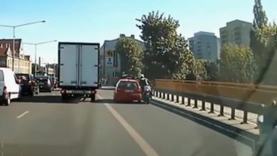 Un automobiliste impatient perd son permis en moins de 10 secondes