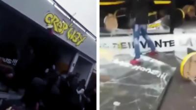 Des lycéens cassent et pillent une crêperie à Aulnay-sous-Bois