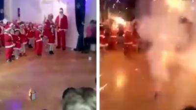 Un feu d'artifice dans une école maternelle tourne au cauchemar