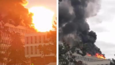 Une violente explosion dans un campus universitaire lyonnais