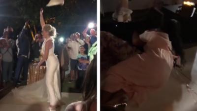 Deux femmes se battent pour un sac Gucci pendant un mariage