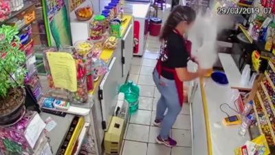 Une femme se brûle le visage au second degré à cause d'une explosion de lait bouillant