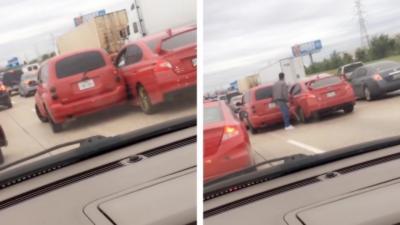 Road rage à coup de machette entre deux automobilistes sur l'autoroute