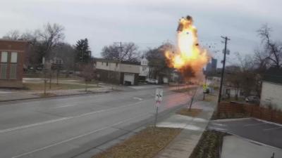 Une maison explose à cause d'une fuite de gaz