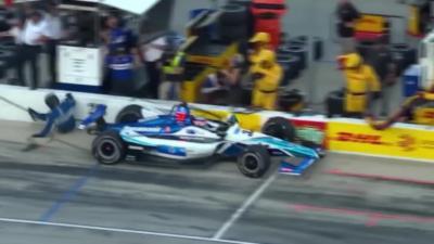 Un pilote d'IndyCar fauche l'un de ses mécaniciens