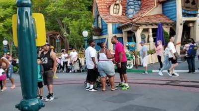 Une bagarre éclate entre deux familles à Disneyland