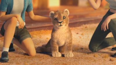 Une animation qui dénonce l'élevage des lions qui sont vendus à des chasseurs