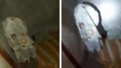 Un malfrat utilise la pire cachette pour tenter de fuir la police