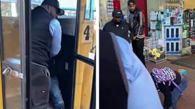 Un chauffeur éjecte un élève de son bus scolaire