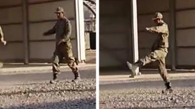 Quand un soldat vient d'intégrer l'armée