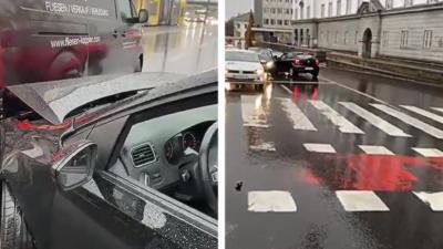 Une femme ivre tente de prendre la fuite mais percute une seconde voiture