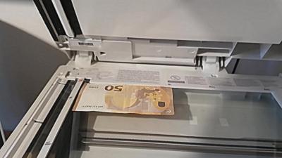 Que se passe-t-il lorsqu'on photocopie un billet de banque ?