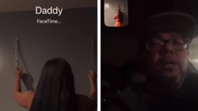 Elle appelle le mauvais papa en FaceTime