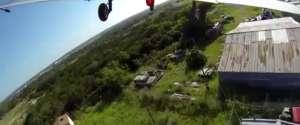 Un crash d'avion filmé par 3 GoPro