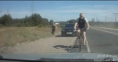 Des Russes tentent de provoquer un accident