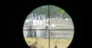 Un sniper paintball à viseur vidéo